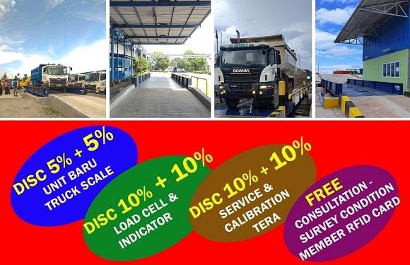 Jual timbangan truk kelas industri berat (heavy-duty) untuk solusi penimbangan dunia bisnis di berbagai sektor industri di Indonesia